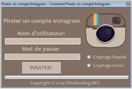 Pirater un compte Instagram