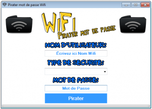 Pirater mot de passe Wifi